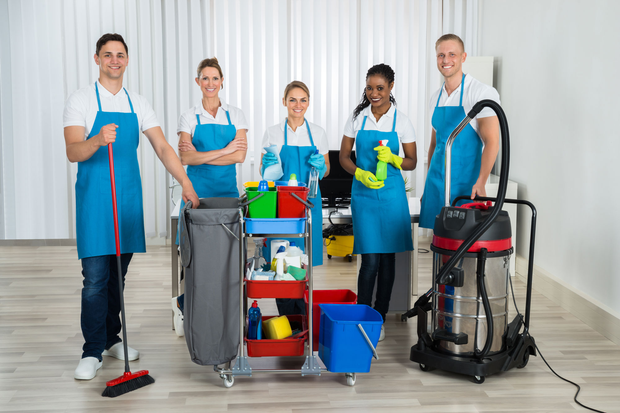 Tips For Training Your Cleaning Team - Bright Academy